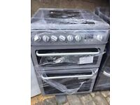 EX DISPLAY GREY HOTPOT 60cm ELECTRIC COOKER , 6 MONTHS WARRANTY