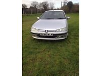 1998 Peugeot 406 saloon manual