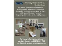 Therapy Room to Rent in Montpellier, Cheltenham