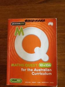 Maths Quest 10 + 10a Claremont Nedlands Area Preview