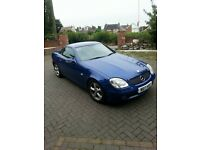 2000 Mercedes SLK 230 convertible for sale - £2,100 ovno.