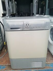 Silver 'Hotpoint' Condenser Dryer - Excellent Condition / Free Local Delivery