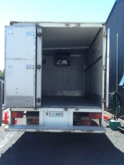 Hino refrigerated truck Ulverstone Central Coast Preview