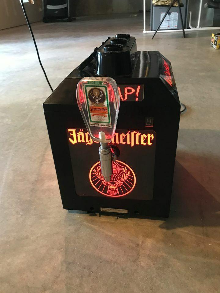 JAGERMEISTER Tap Machine NEW Bottle JEMUS Bottle Stoppers