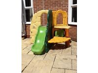 Little tikes Jungle Climber climbing frame and slide