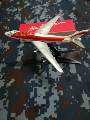 Airasia Airlines Airways Model Boeing Aircraft Plastic 747 400 1 530