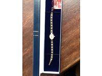 Ladies Geneve 9ct Hallmarked Bracelet Watch
