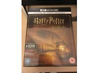 NEW SEALED HARRY POTTER 8 FILM COLLECTION (4K ULTRA HD) - Blu Ray + Digital Download