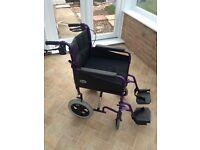Lightweight Ladies Wheelchair