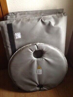 Briskheat Drum Insulator With Cover 33in 55 Gallon Fgdi55 Fdgc55