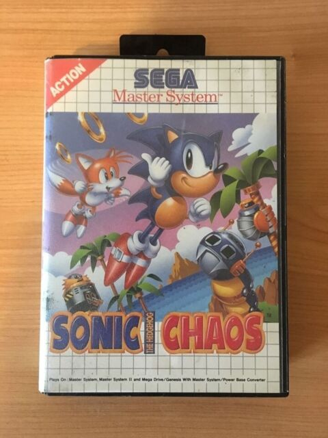 SEGA Master System II retro game - Sonic Chaos | in Great Baddow, Essex |  Gumtree