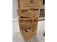 Vintage Port Boxes for Sale - Various sizes available