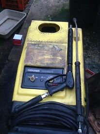 Karcher steam pressure washer high powered industrial cleaner