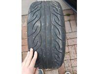 215 45 17 AD08R track tyre, semi slick,race