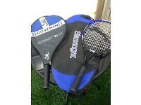 Job lot tennis/squash/badminton racquets