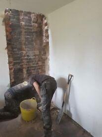 Bricklayer, builder,loft,kitchen,extension,garden walls refurbishments flooring