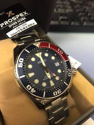 Latest New Seiko RED Blue PEPSI SUMO SBDC057 JAPAN Limited Edition Propsex