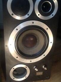Wharfedale speakers x2...vintage E50