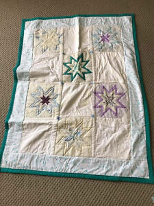 Hand made baby cot blanket Andrews Farm Playford Area Preview