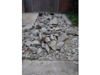 rubble mixed with gravel