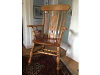 Farmhouse Style Arm Chair