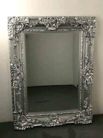 heavy heavy guild framed mirror ( BRAND NEW) 4 by 2.4 foot
