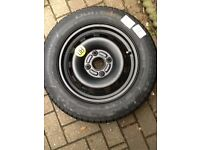 Ford steel wheel 14inch spare