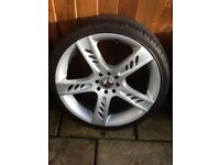 "18"" ZCW multi fit 4 stud alloy wheels"