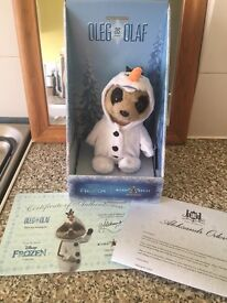 Compare The Meerkat (limited edition) - Baby Oleg As Olaf , Frozen.