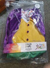 Charlie & the Chocolate Factory Willy Wonka, 5-6 Years Costume
