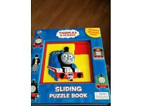 Thomas the tank engine sliding puzzle book