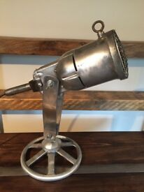 A One off Unique Light made from a very Old Industrial Power Tool