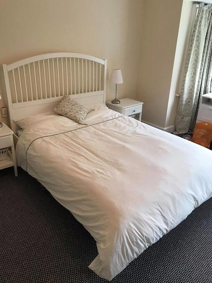 ikea tyssedal bed standard king in moseley west midlands gumtree. Black Bedroom Furniture Sets. Home Design Ideas