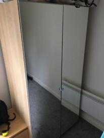 Mirror door wardrobe