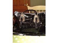 Italian leather hand bag