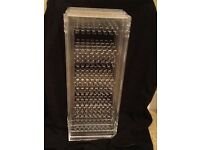 Folding earring holder/display stand with 4 panels. Perfect condition.