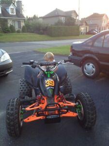Mini vtt honda trx90 race ready