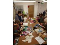 CREATIVE TEXTILES. DRAGON ARTS & LEARNING PONTARDAWE