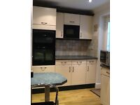 Schmidt full kitchen perfect condition, includes Neff double oven and hob,washing machine dishwasher