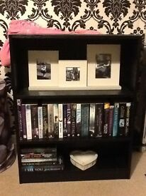 Cute little black bookcase