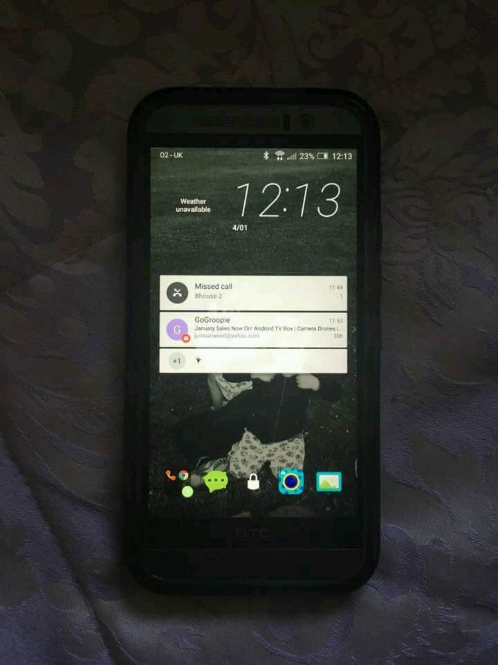 Htc one m9in Wirral, MerseysideGumtree - Good phone on o2 few marks on back nothing major covered with case will consider offers delivery if local