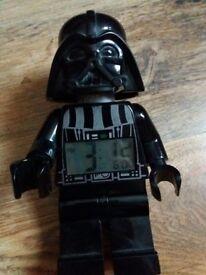 Star Wars Lego Darth Vader Alarm Clock