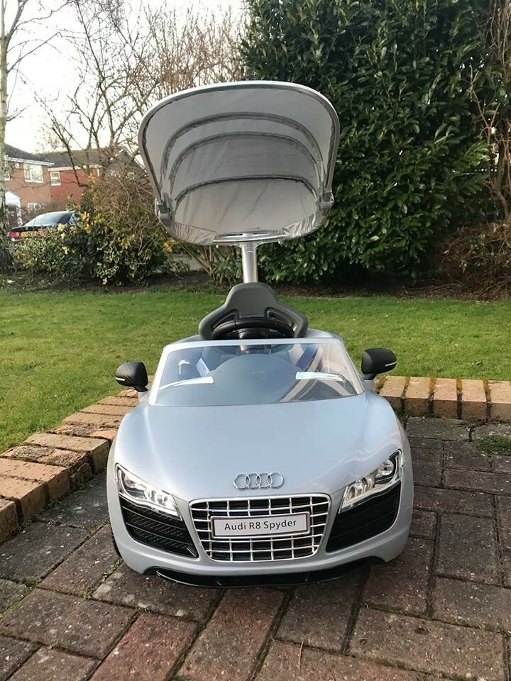 Audi R8 Spyder Push Along Car With Parent Handle In Haxby North