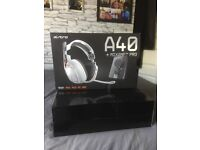 ASTRO A40 HEADSET WITH MIXAMP *URGENT SALE*