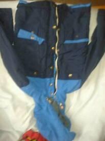 Boys blue coat age 6 - 7