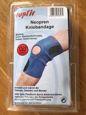 Neopren-kniebandage (Topfit Neopren Kniebandage waschbar alle Größen)