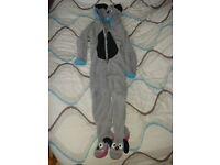 childs dog onesie age 5 - 6