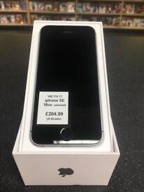 iPhone SE, 16GB, Unlocked