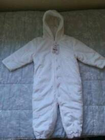 NEW snowsuit for 12-18 months girl