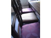 8 seater dinning table and chairs